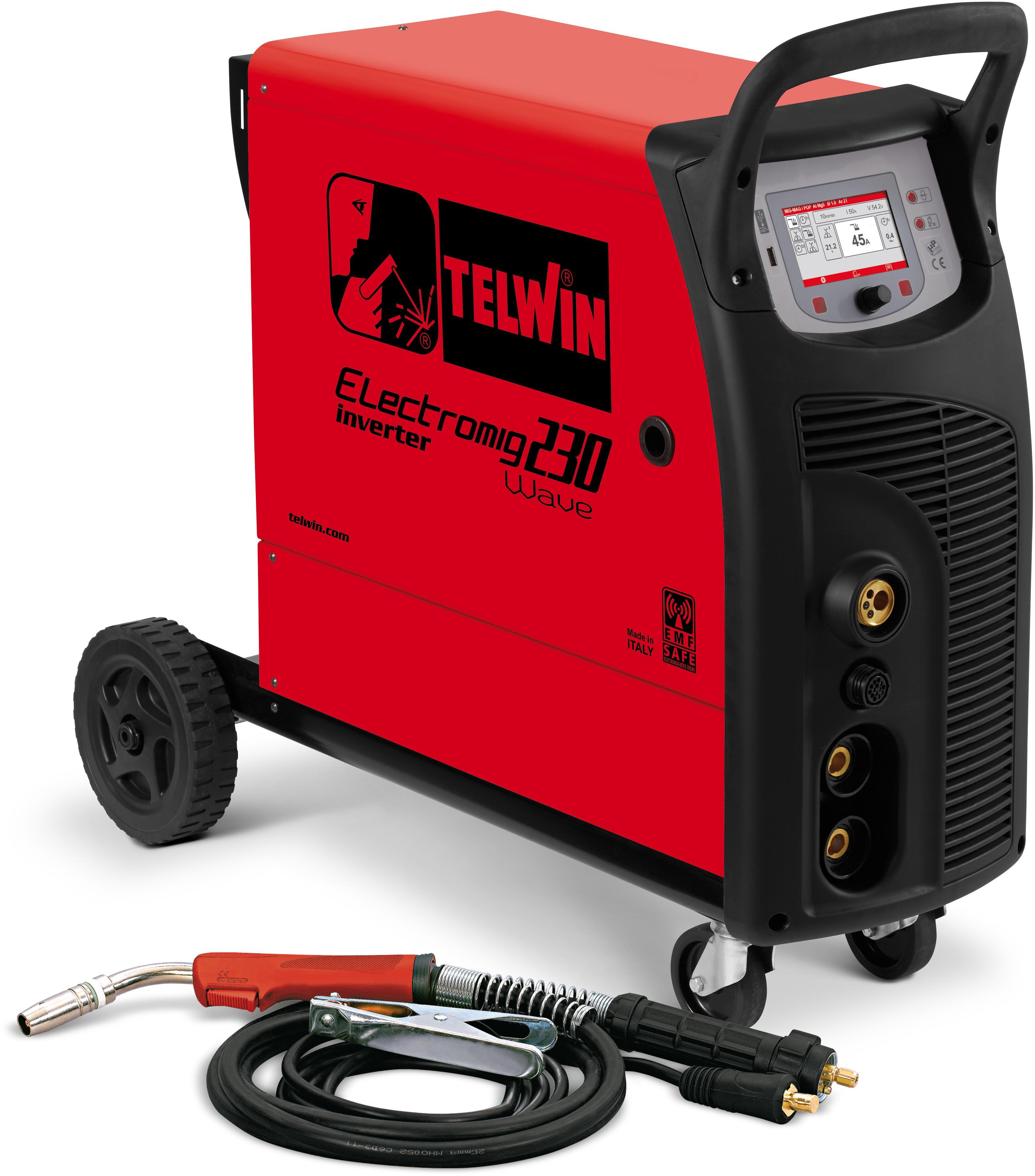 Купить Сварочный аппарат Telwin Electromig 230 wave