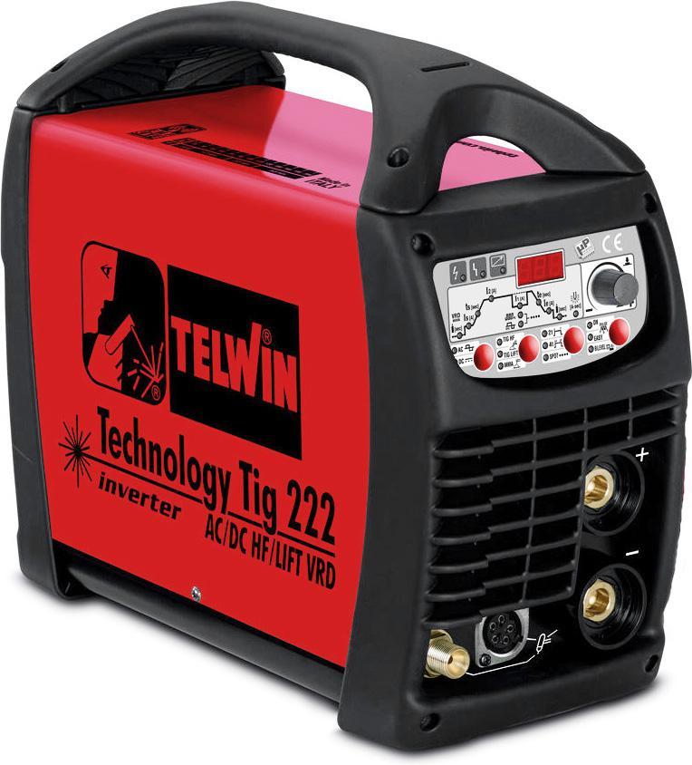 Купить Сварочный аппарат Telwin Technology tig 222 ac/dc hf/lift vrd
