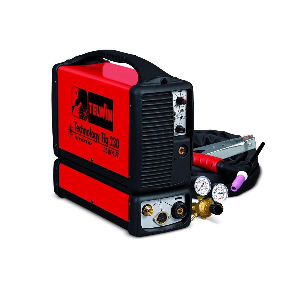 Купить Сварочный аппарат Telwin Technology tig 230 dc-hf/lift vrd 230v