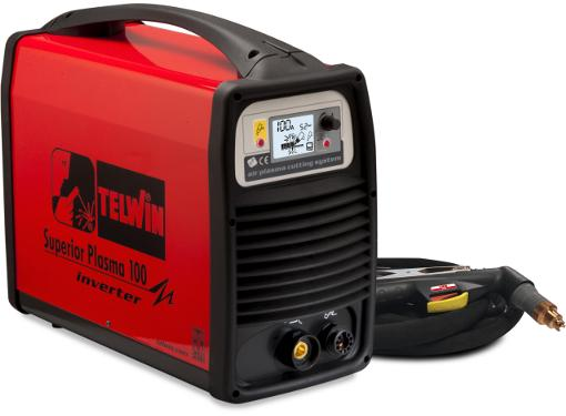 Аппарат плазменной резки TELWIN SUPERIOR PLASMA 100 HF 400V + ACC.