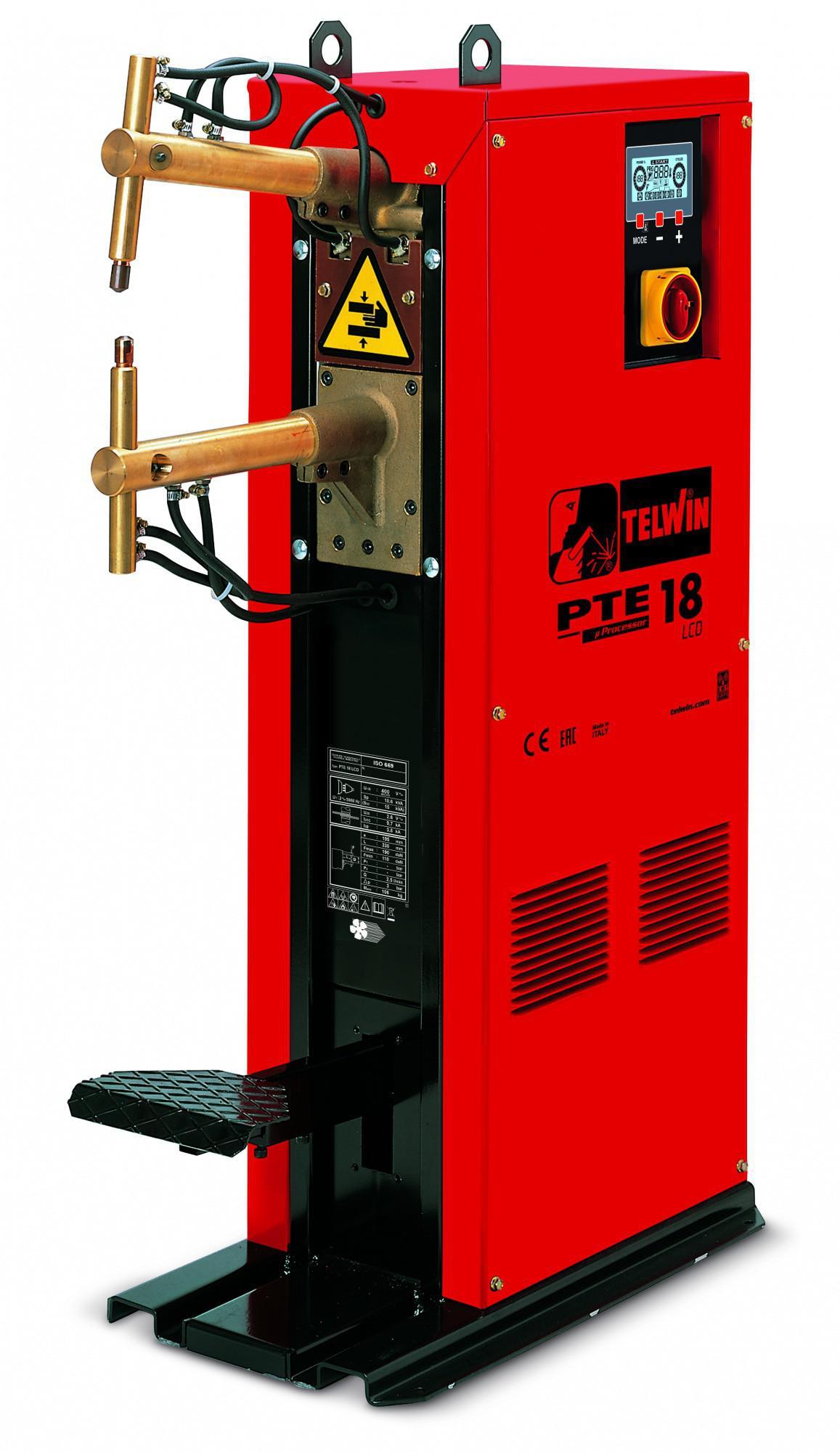 Купить Сварочный аппарат Telwin Pte 18 lcd 400v