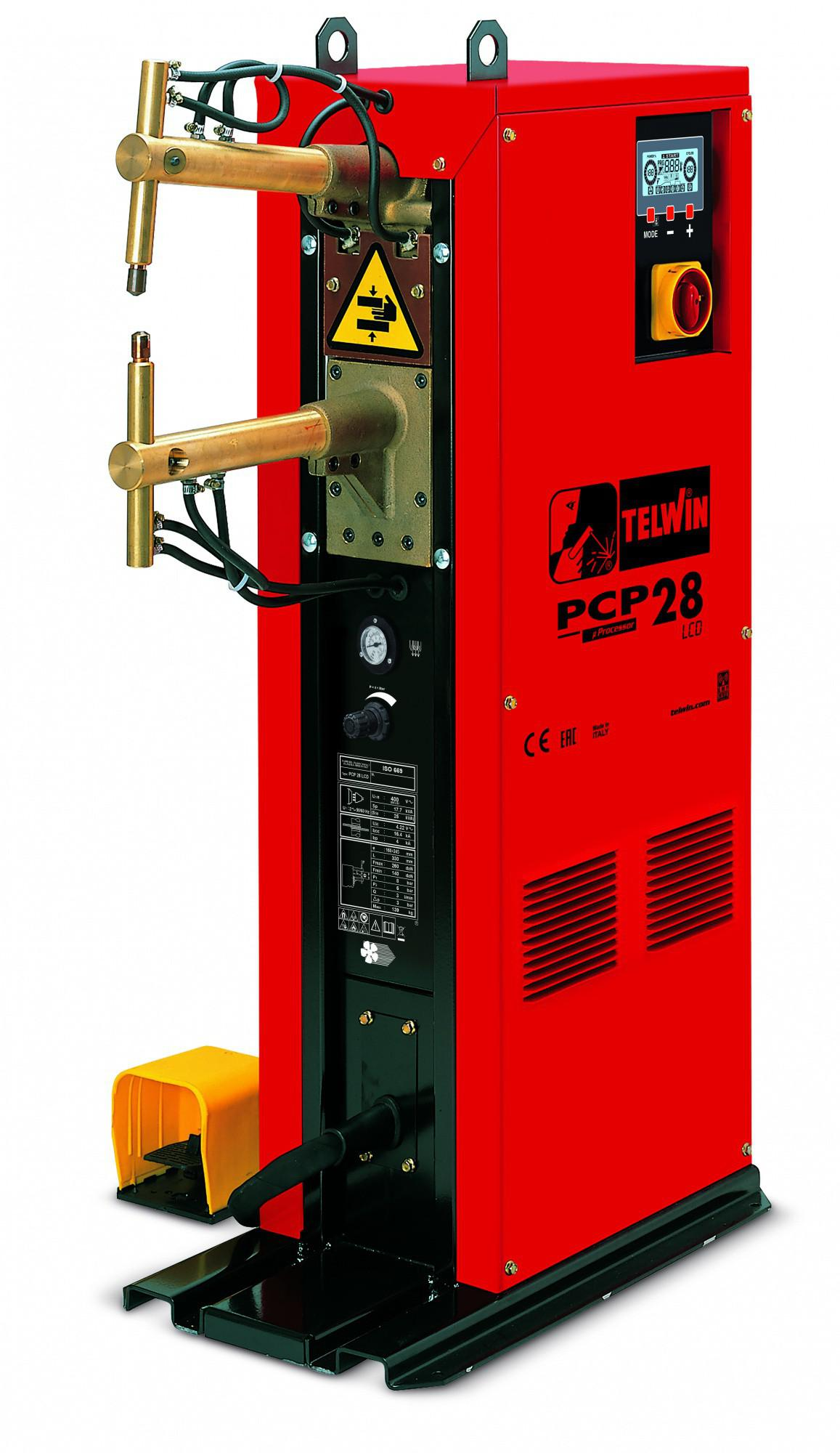 цена на Сварочный аппарат Telwin Pcp 28 lcd 400v