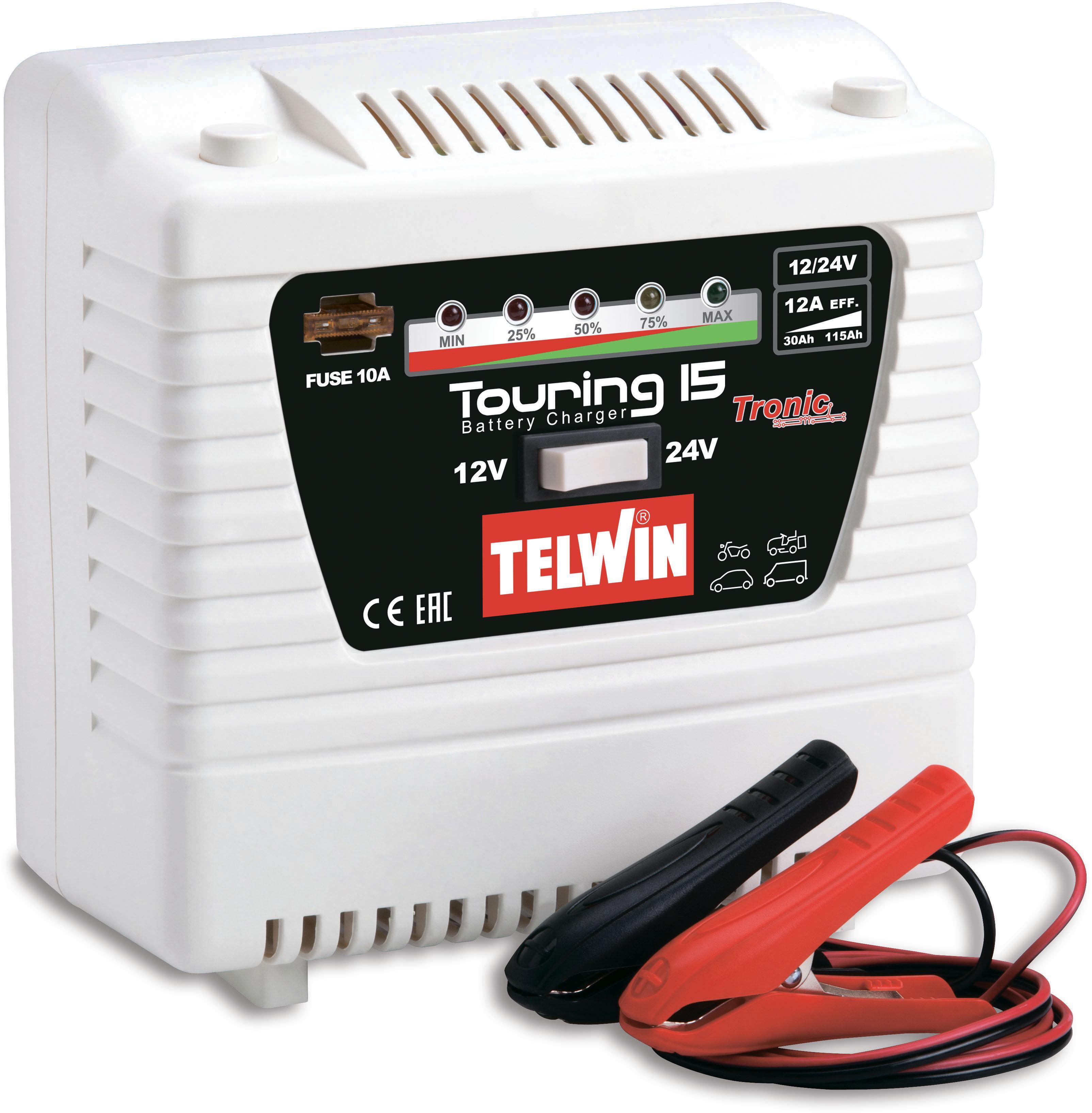 Зарядное устройство Telwin Touring 15  - Купить