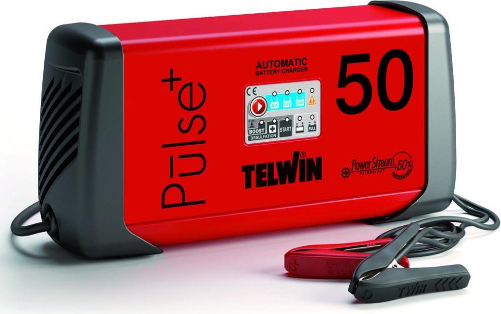 Зарядное устройство Telwin Pulse 50 цена в Москве и Питере