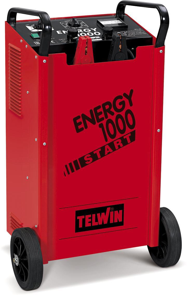 купить Устройство пуско-зарядное Telwin Energy 1000 start 230-400v по цене 82000 рублей
