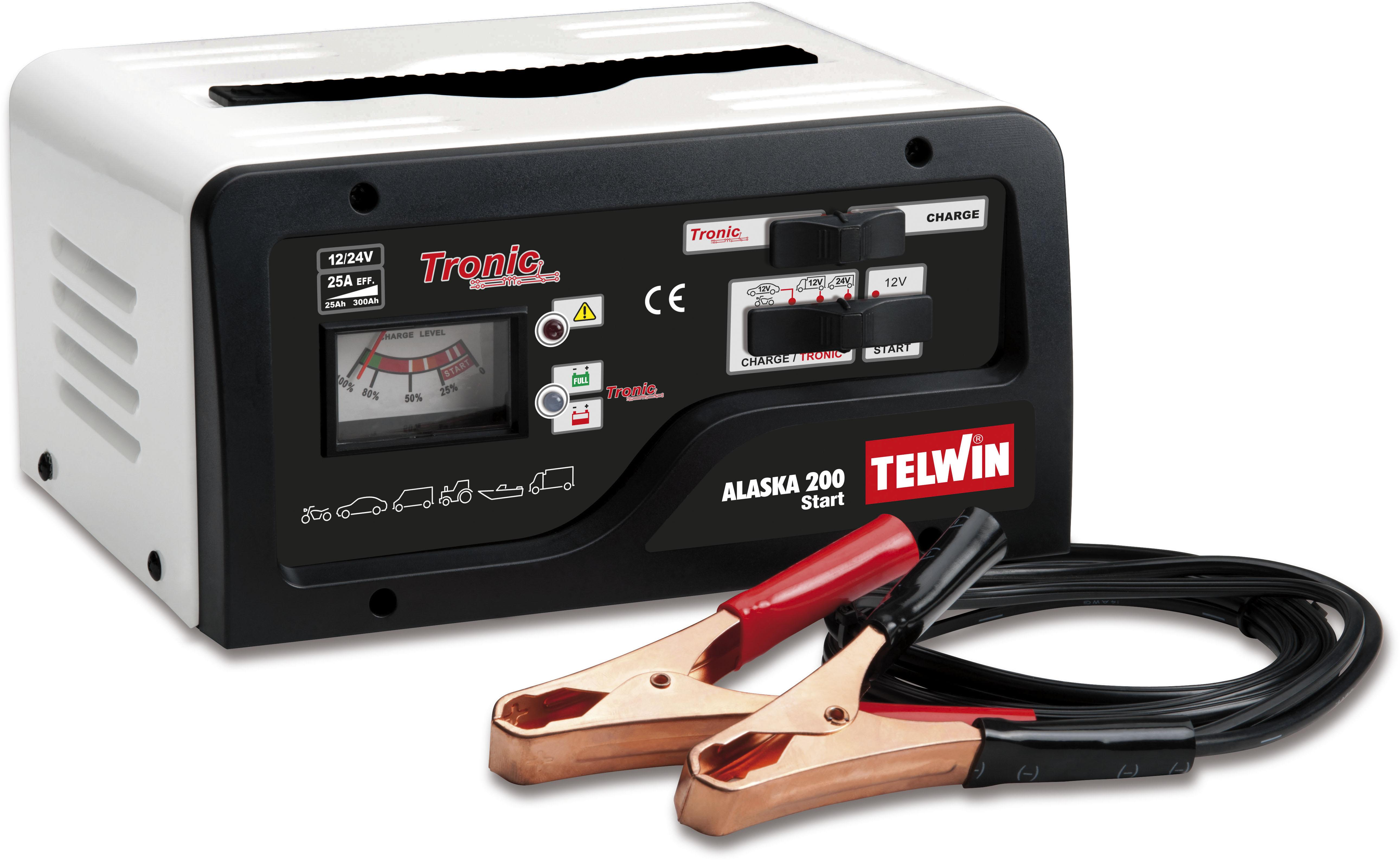 купить Устройство пуско-зарядное Telwin Alaska 200 start по цене 7579 рублей