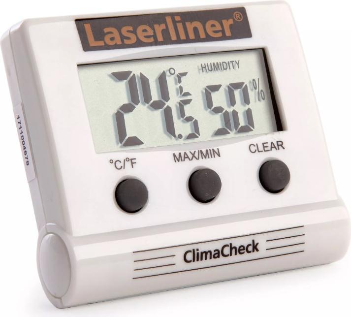Влагомер Laserliner Climacheck 082.028a термогигрометр настольный мегеон 20207 диапазон –50 70 °с погрешность ±1 0°с