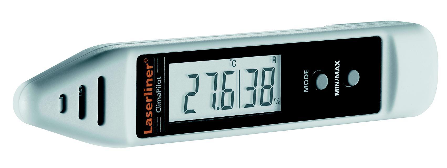 Влагомер Laserliner Climapilot 082.034a термогигрометр настольный мегеон 20207 диапазон –50 70 °с погрешность ±1 0°с
