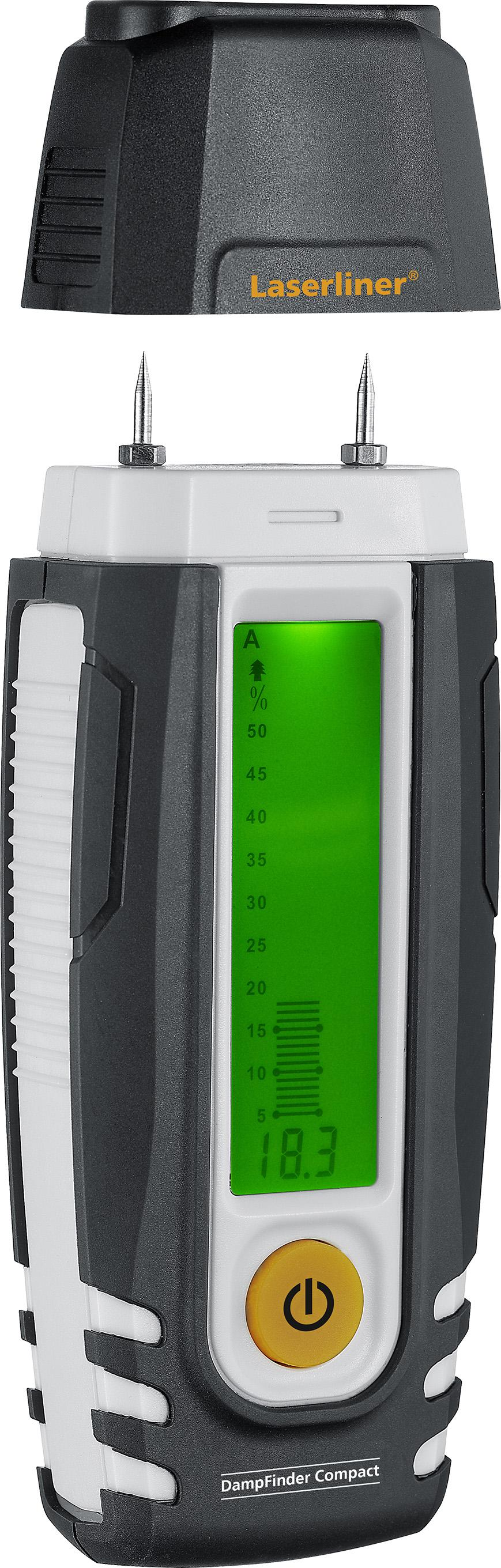 Влагомер Laserliner Dampfinder compact 082.015a влагомер kwb 0121 00 древесина стройматериалы