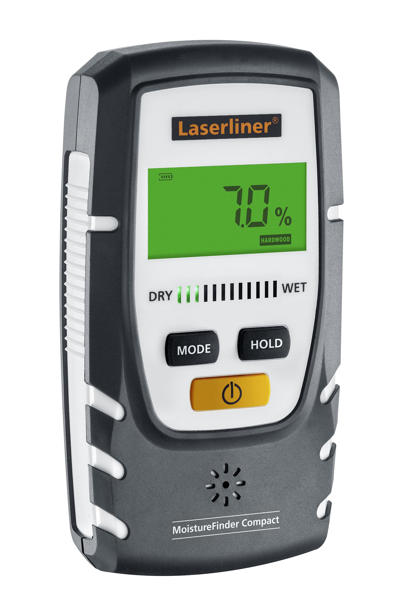 Влагомер Laserliner Moisturefinder compact 082.332a влагомер kwb 0121 00 древесина стройматериалы