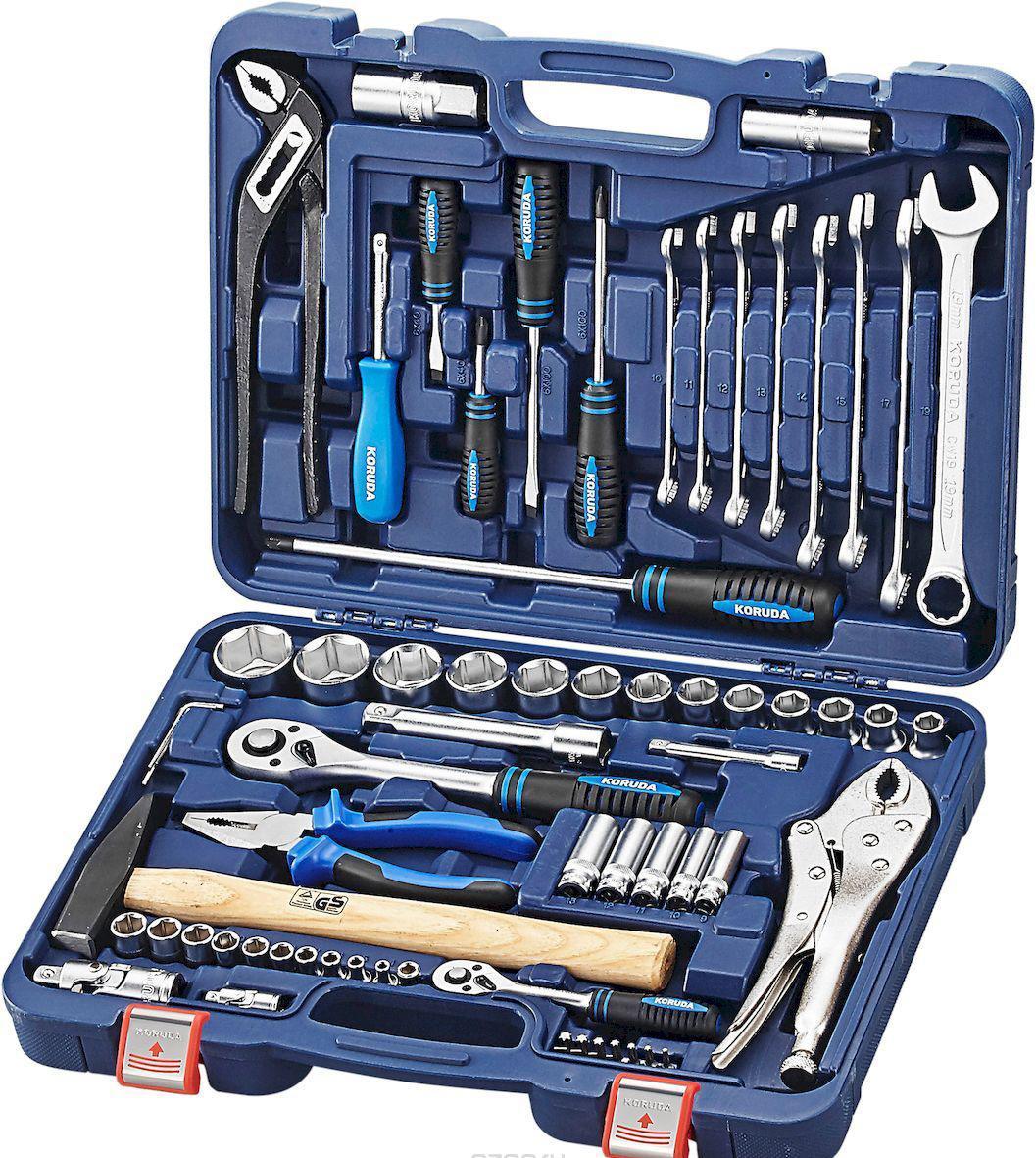 Набор инструментов Koruda Tk72