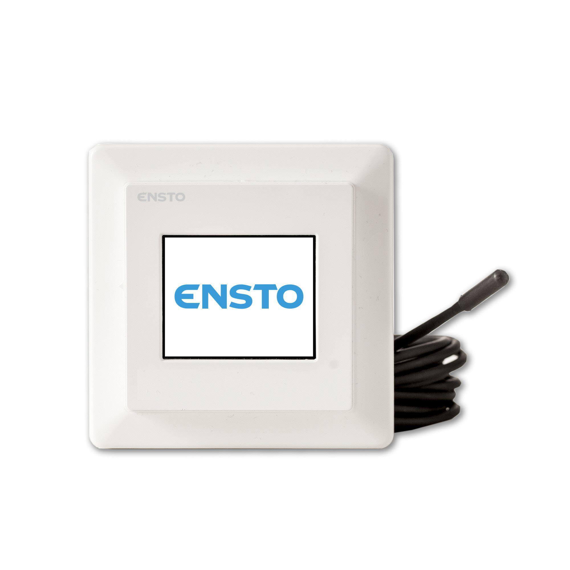 Терморегулятор Ensto Eco16touch терморегулятор электронный аналоговый сaleo 620