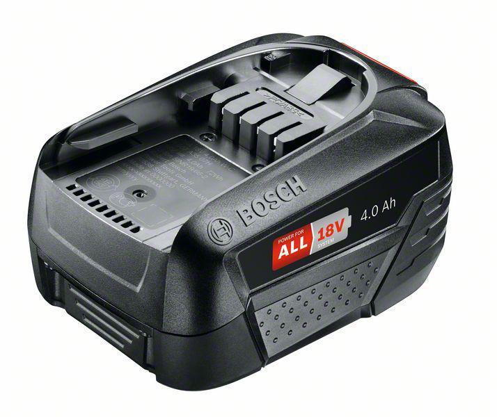 Фото - Аккумулятор Bosch 18В 4Ач li-ion pba (1600a011t8) набор bosch аккумулятор 18в 6ач li ion pba 1600a00dd7 рюкзак 1 619 m00 k04