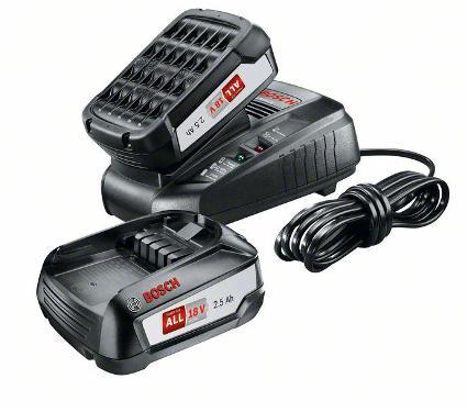 Набор аккумуляторов и ЗУ BOSCH 18В 2.5Ач Li-Ion PBA+ЗУ AL1830 V (1600A011LD)