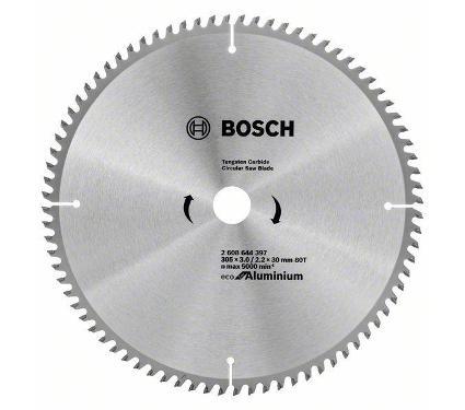 Диск пильный BOSCH Ф305х30мм 80зуб. (ECO ALU/Multi 2608644397)