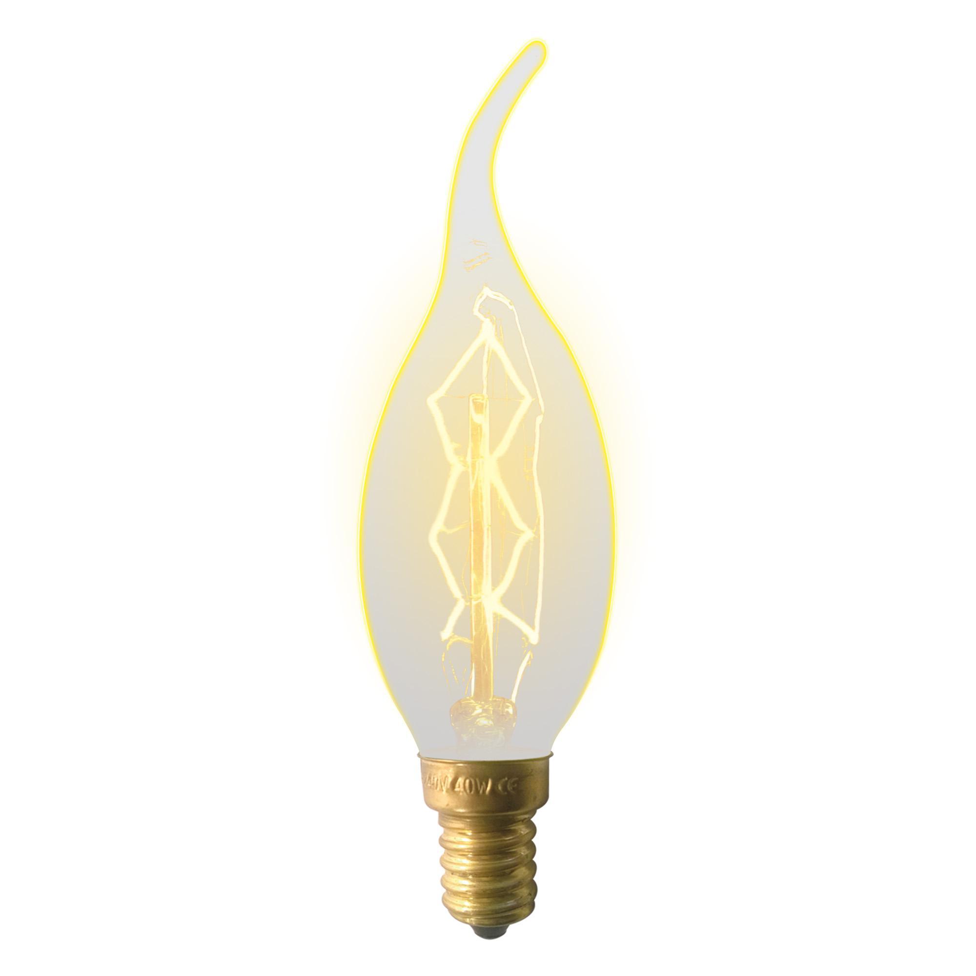 Лампа Uniel Il-v-cw35-60/golden/e14