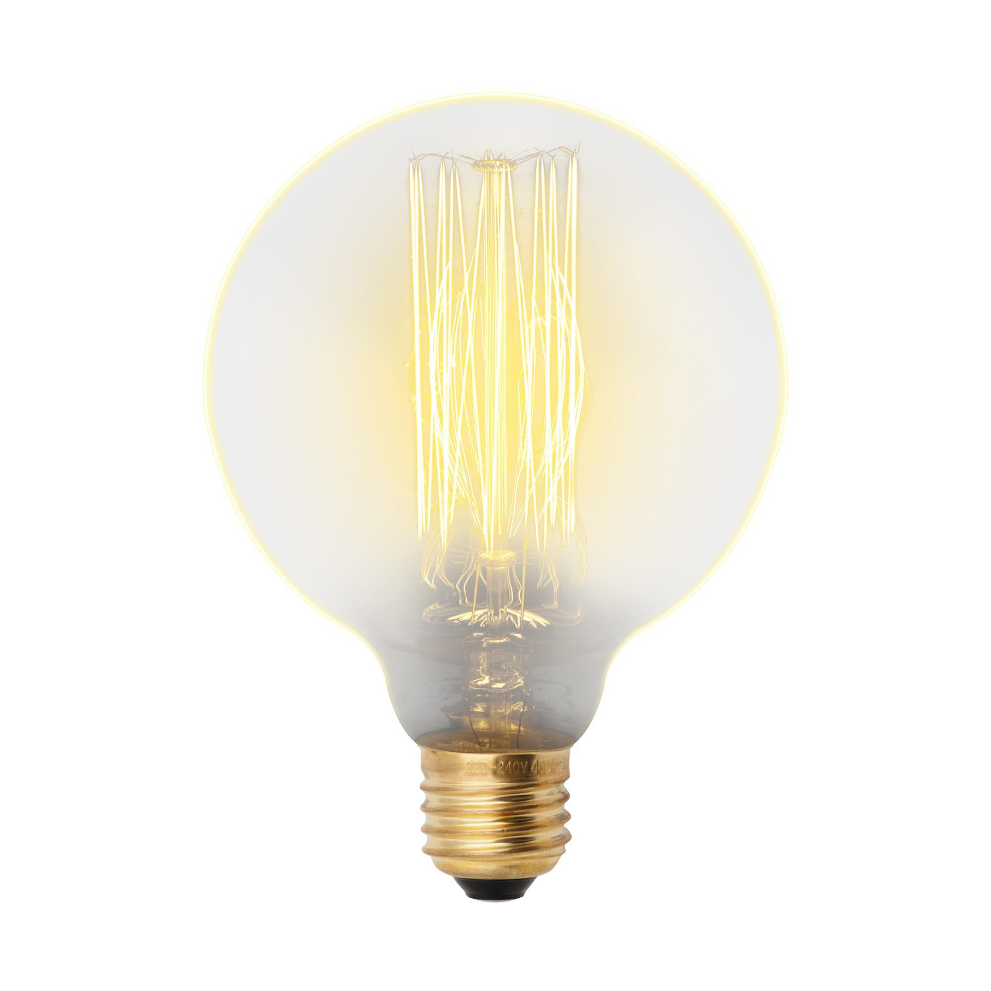 Лампа Uniel Il-v-g80-60/golden/e27