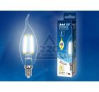 Лампа UNIEL LED-CW35-5W/NW/E14/CL/DIM