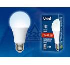 Лампа UNIEL LED-A60-10W/NW/E27/FR/24-48V