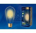 Лампа UNIEL LED-ST64-5W/GOLDEN/E27