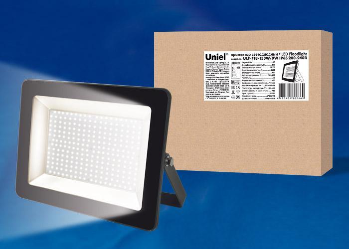 Прожектор Uniel Ulf-f18-150w/dw цена