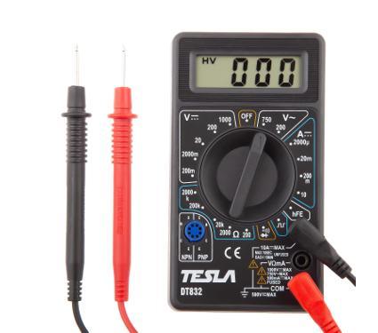 Мультиметр цифровой TESLA DT 832 карманный
