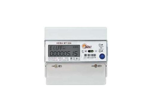 Трехфазный счетчик электроэнергии ТАЙПИТ 6109137 НЕВА МТ 324 1.0 AR E4S (E4BS26) однотарифный