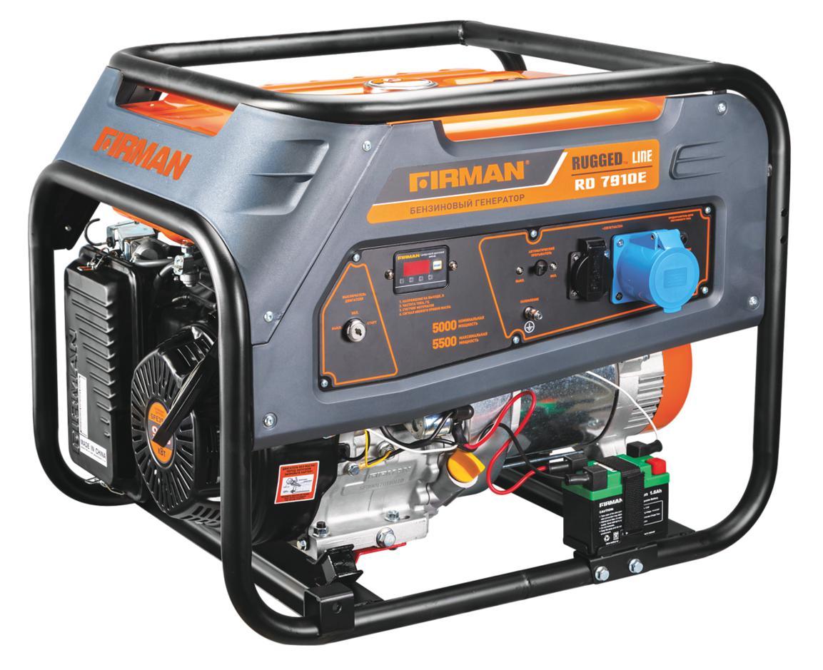 Бензиновый генератор Firman Rd7910Е