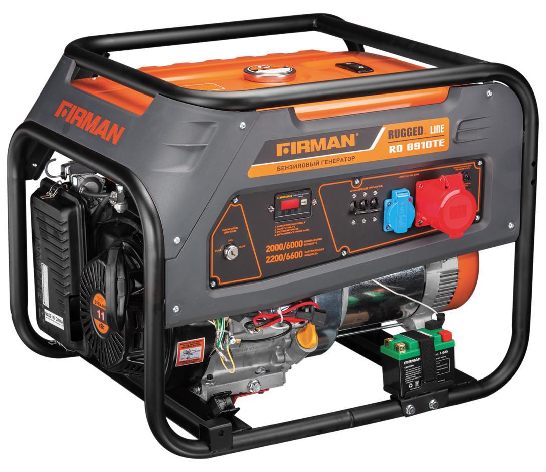 Бензиновый генератор Firman Rd8910ТЕ