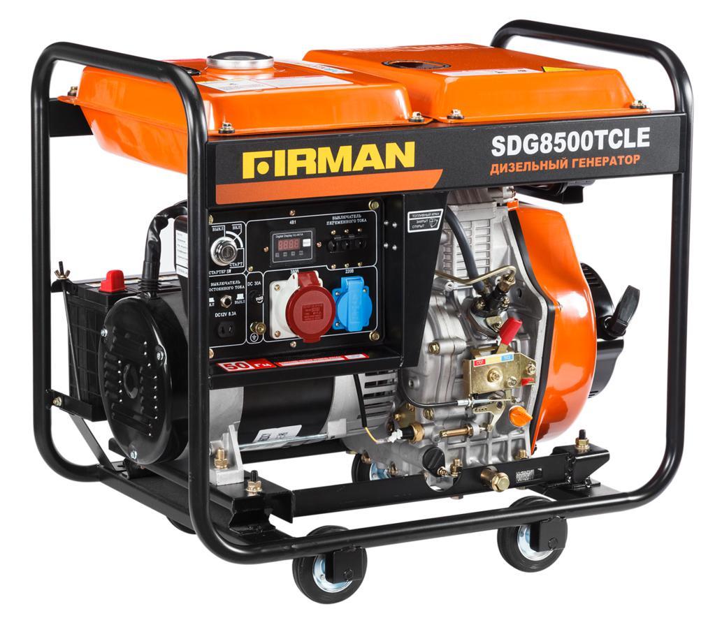 Дизельный генератор Firman Sdg8500tcle