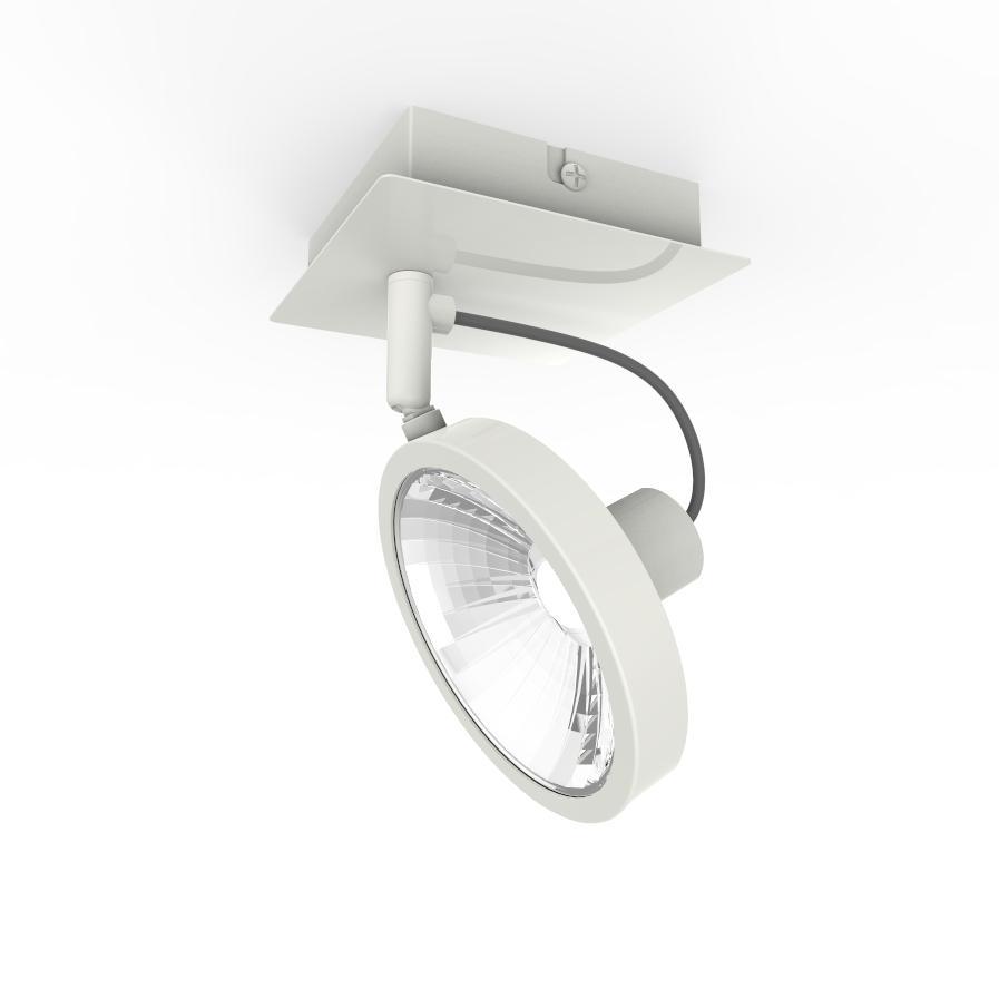 Спот J-light Goss 1221/1a g9*1*40w белый/хром