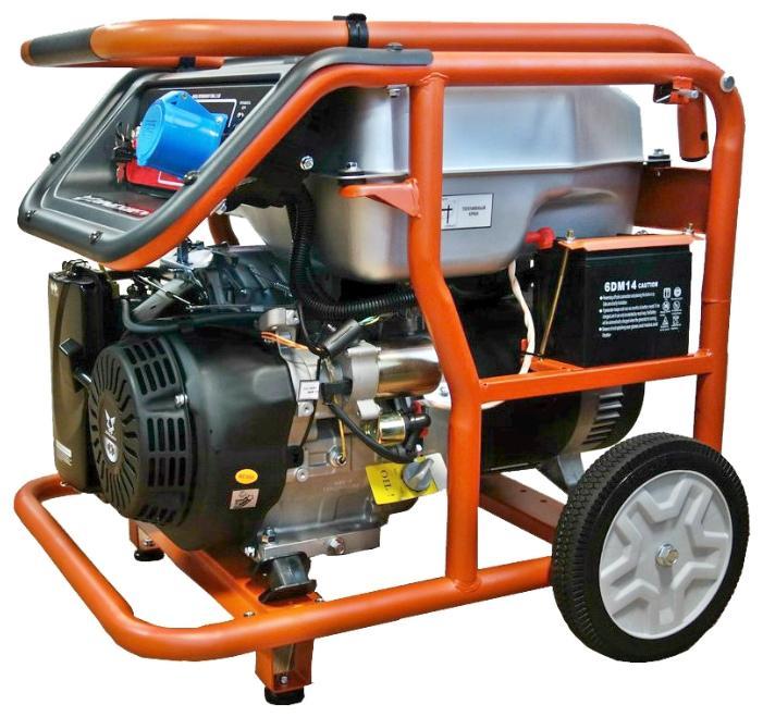 Бензиновый генератор Zongshen Kb 9000 e