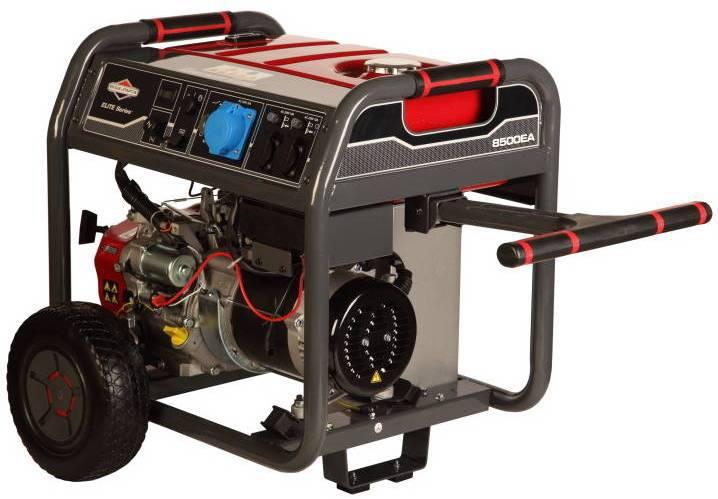 Бензиновый генератор Briggs & stratton 8500