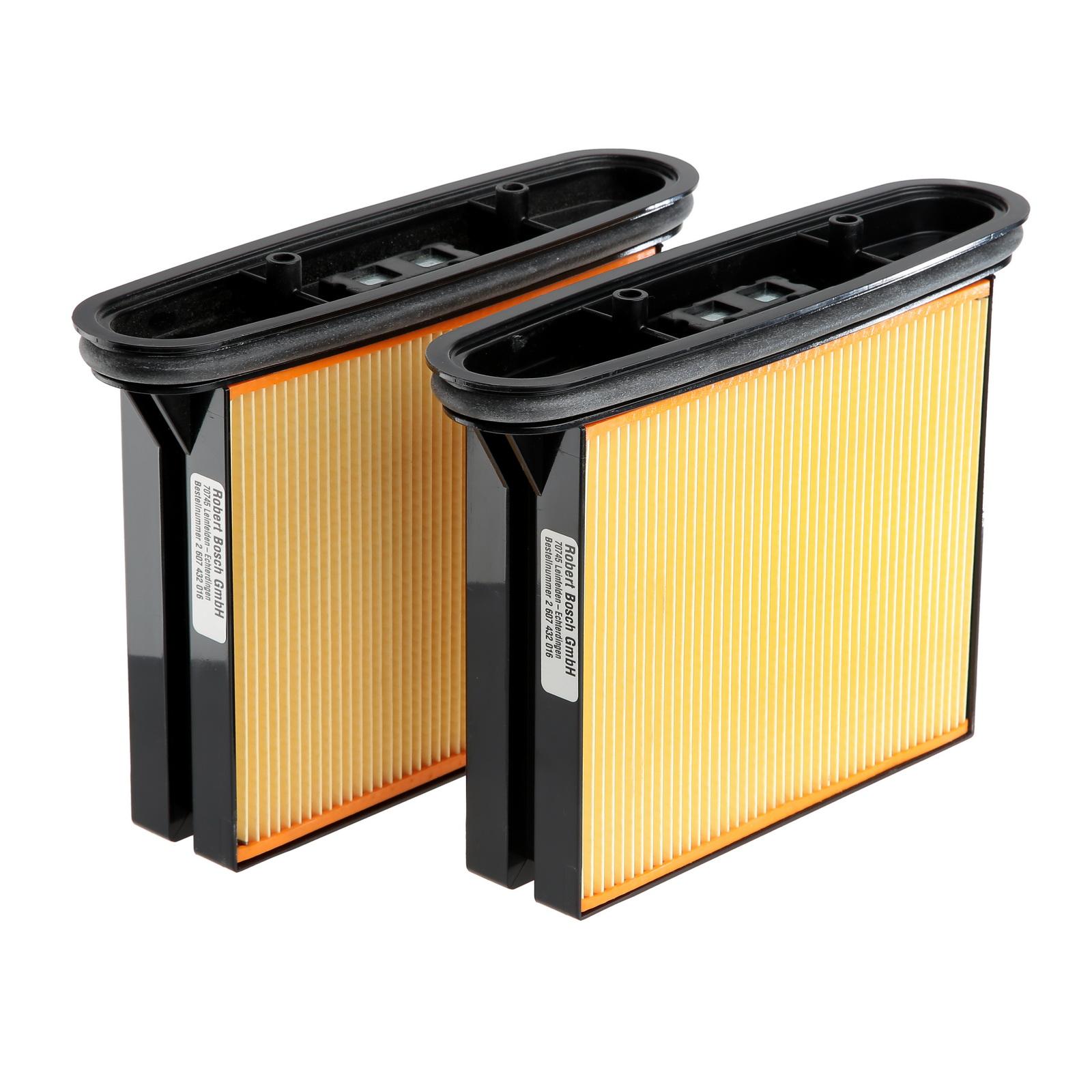 Фильтр Bosch для пылесоса gas 50, складчатый (2.607.432.016) фильтр для пылесоса bosch bbz10tfp