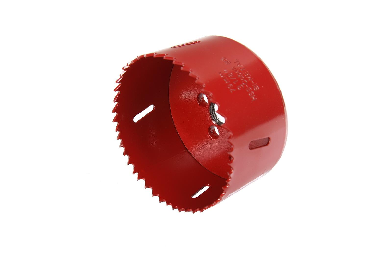 Коронка биметаллическая Hammer 224-014 bimetall 79 мм коронка биметаллическая hammer 224 011 bimetall 57 мм