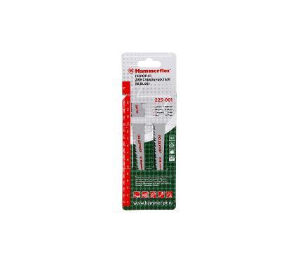 Полотно для сабельной пилы HAMMER 150мм, TPI 6, HCS, 2шт/уп (Flex 225-001)