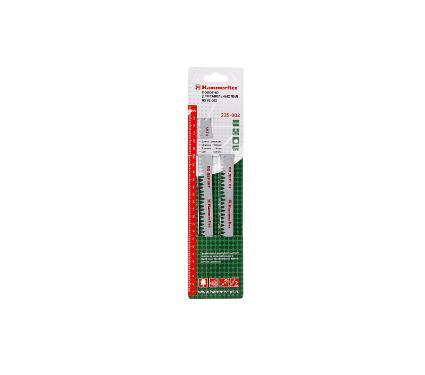 Полотно для сабельной пилы HAMMER 240мм, TPI 5, HCS, 2шт/уп (Flex 225-002)