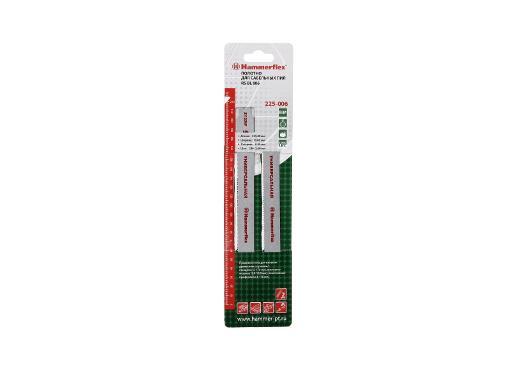 Полотно для сабельной пилы HAMMER 225мм, TPI 10-14, BIM, 2шт/уп (Flex 225-006)