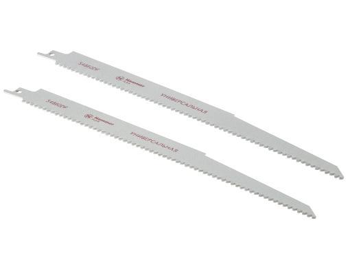 Полотно для сабельной пилы HAMMER 300мм, TPI 6, HCS, 2шт/уп (Flex 225-007)
