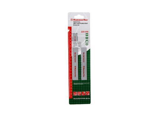 Полотно для сабельной пилы HAMMER 225мм, TPI 14, BIM, 2шт/уп (Flex 225-010)