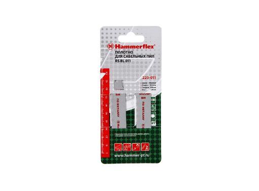 Полотно для сабельной пилы HAMMER 100мм, TPI 14, BIM, 2шт/уп (Flex 225-011)