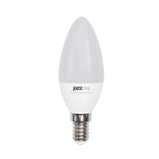Лампа светодиодная Jazzway Pled-sp c37 9Вт свеча 5000К