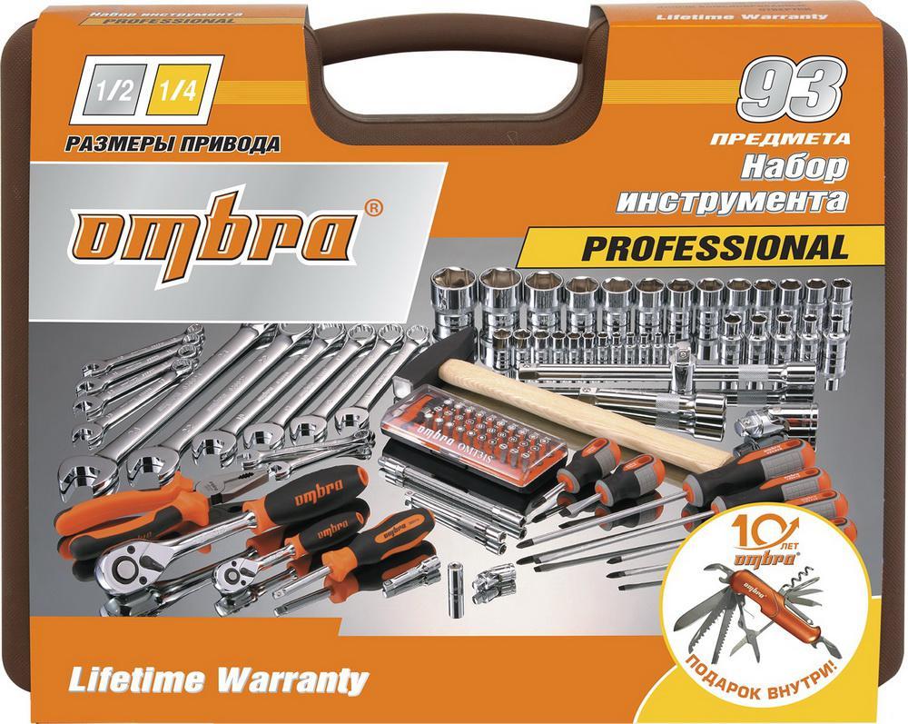 Набор инструментов Ombra Omt93s18 юбилейная серия набор инструментов ombra omt150s18 юбилейная серия универсальный 1 4 3 8 и 1 2150предметов