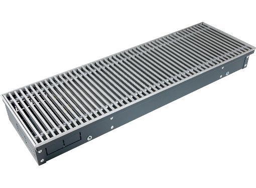 Внутрипольный конвектор TECHNO KVZ 200-120-1400