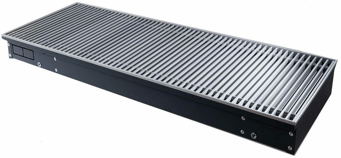 конвектор отопления techno внутрипольный с естественной конвекцией без решетки kvz 350 120 2200 Конвектор Techno Kvz 300-85-2200/РРА 300-2200