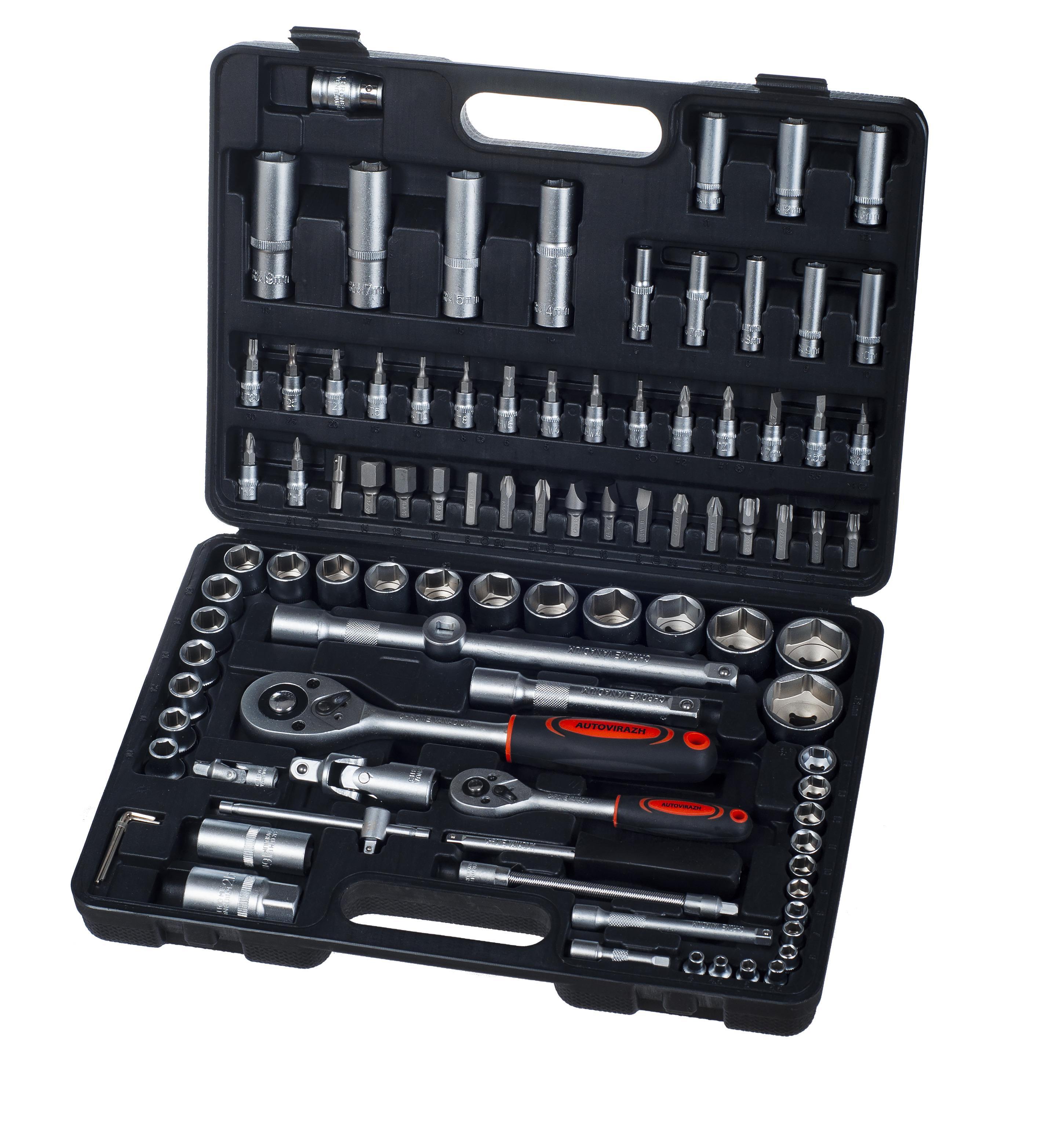 Купить со скидкой Набор инструментов Autovirazh Av-212094