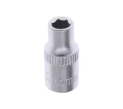 Головка AVSTEEL размер 5.5мм, H 25мм, S 1/4'' (AV-500055)