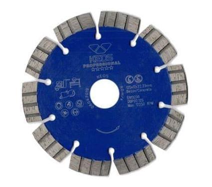 Круг алмазный KEOS Professional DBP02.125 Ф125х22мм по железобетону