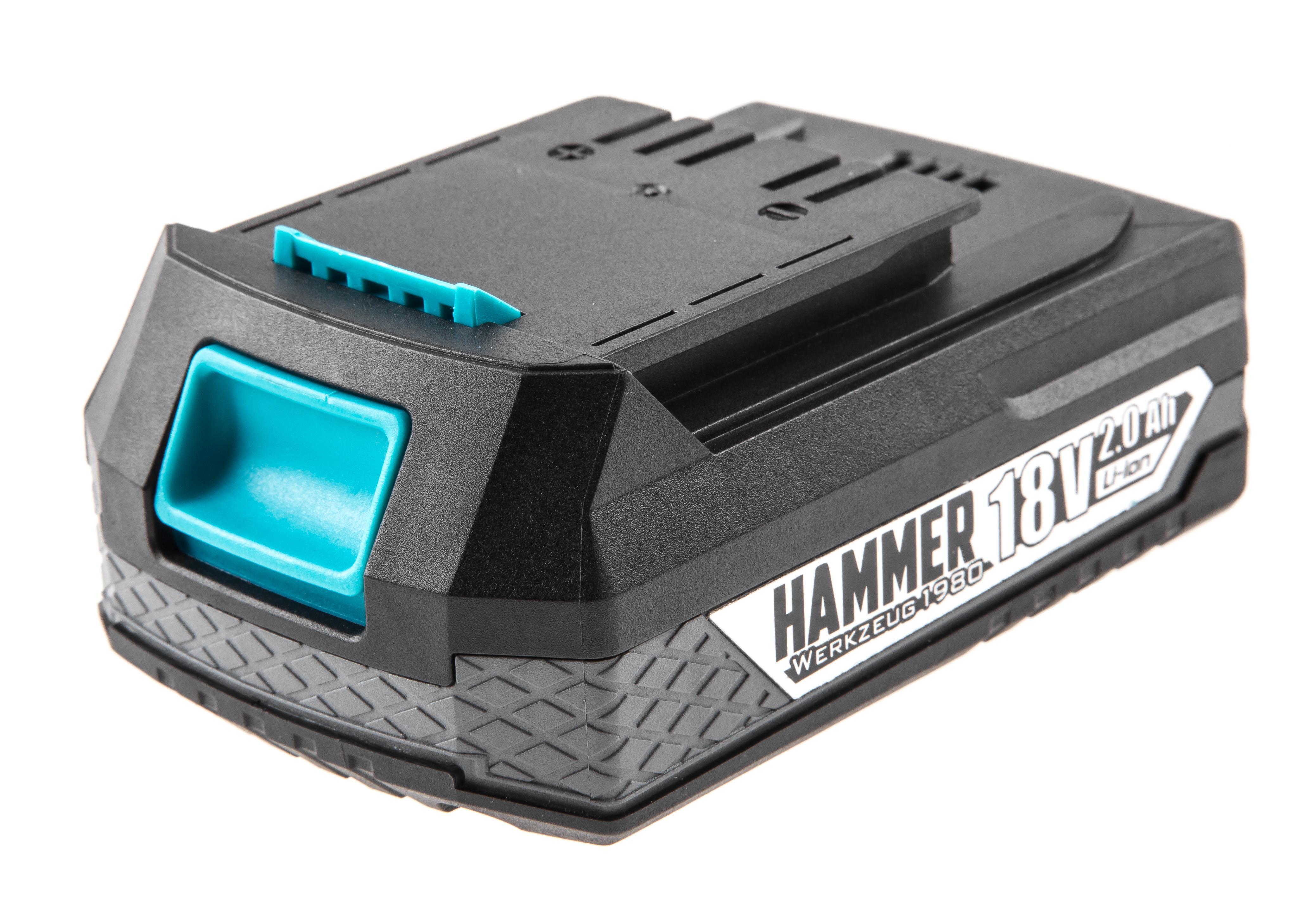 Аккумулятор Hammer 18В 2Ач li-ion (ab1820li premium) аккумулятор hammer premium akb1813li 18в li ion 1 3ач для bosch
