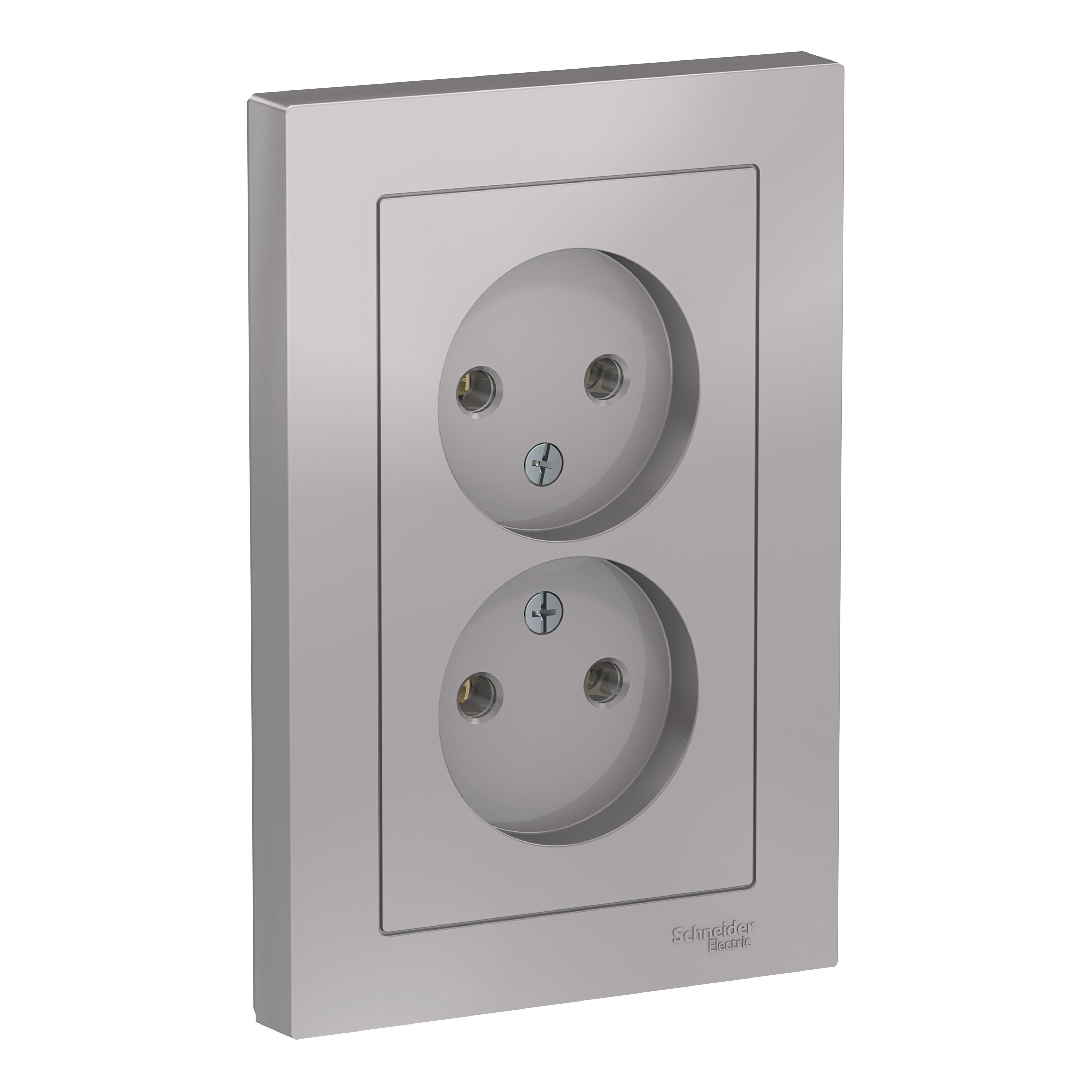 Купить Розетка Schneider electric Atn000320, алюминий